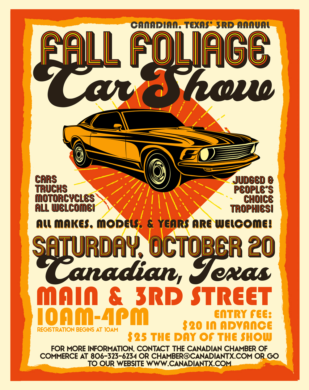 2018 fall foliage car show