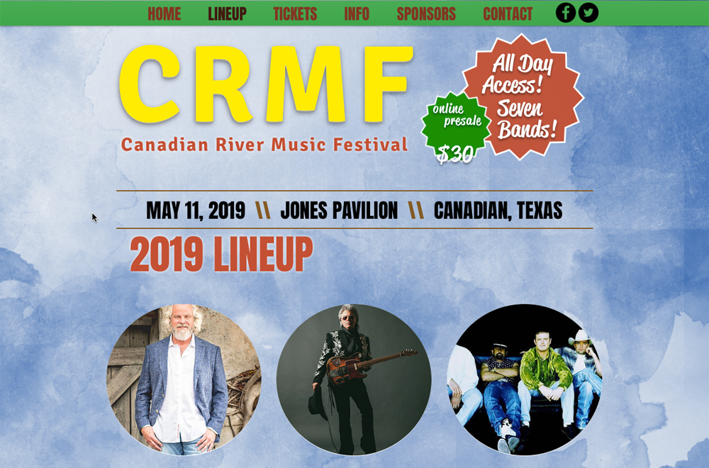 Canadian River Music Festival 2019