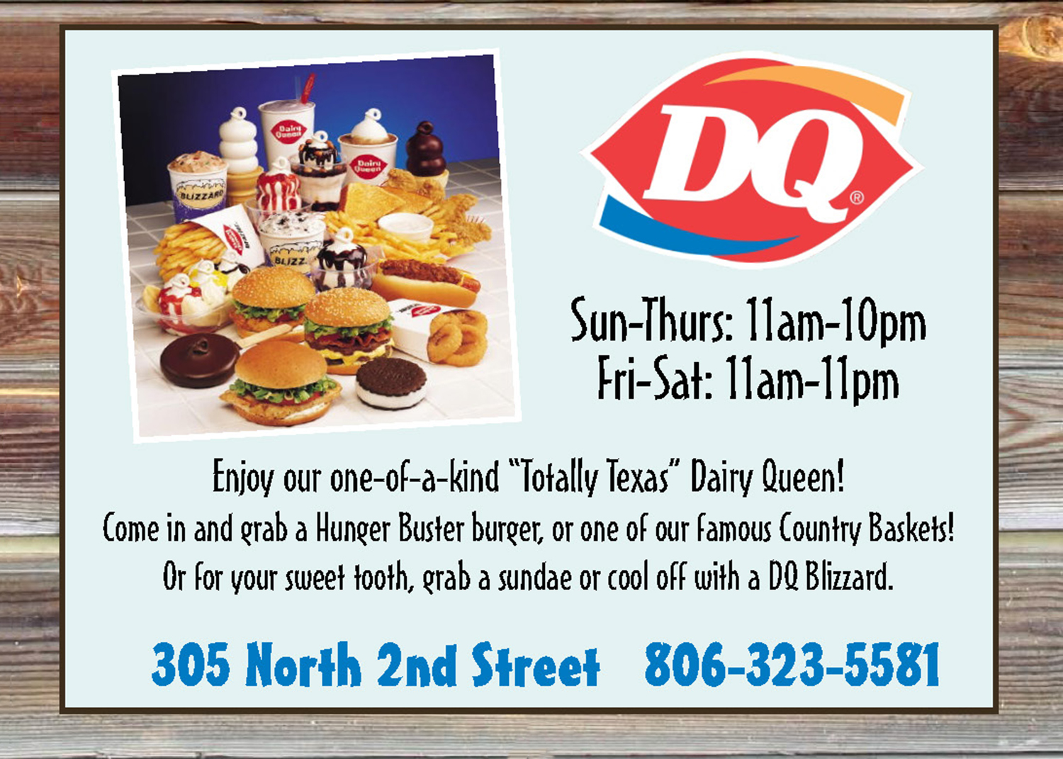 dining dq