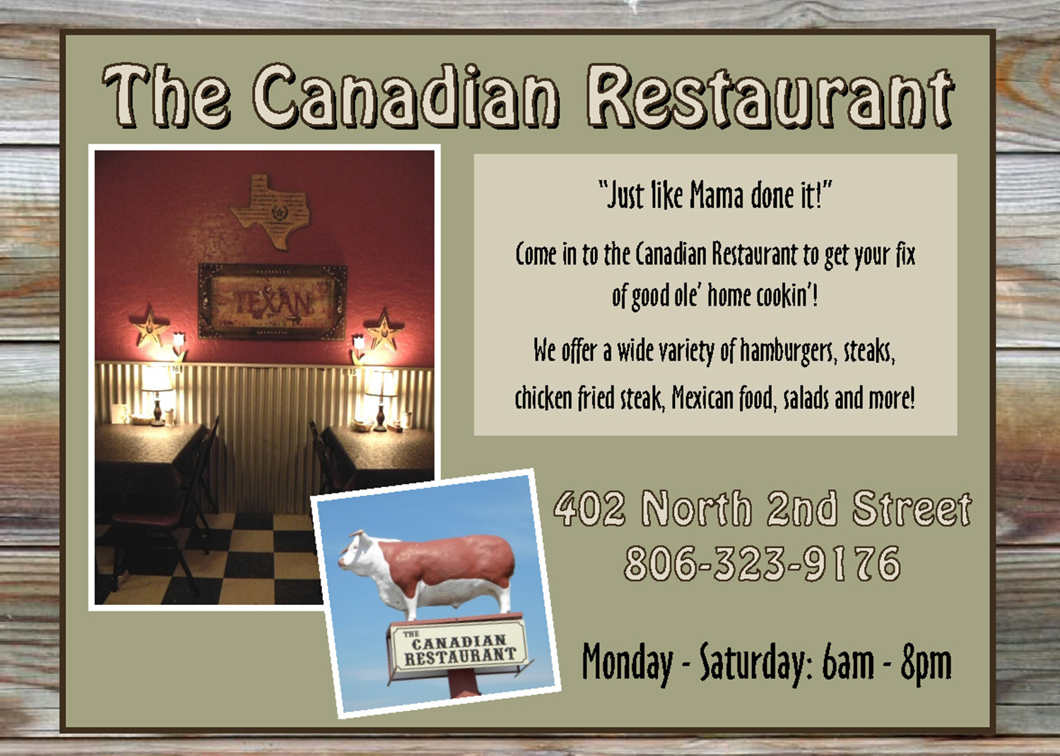 dining the canadian retaurant