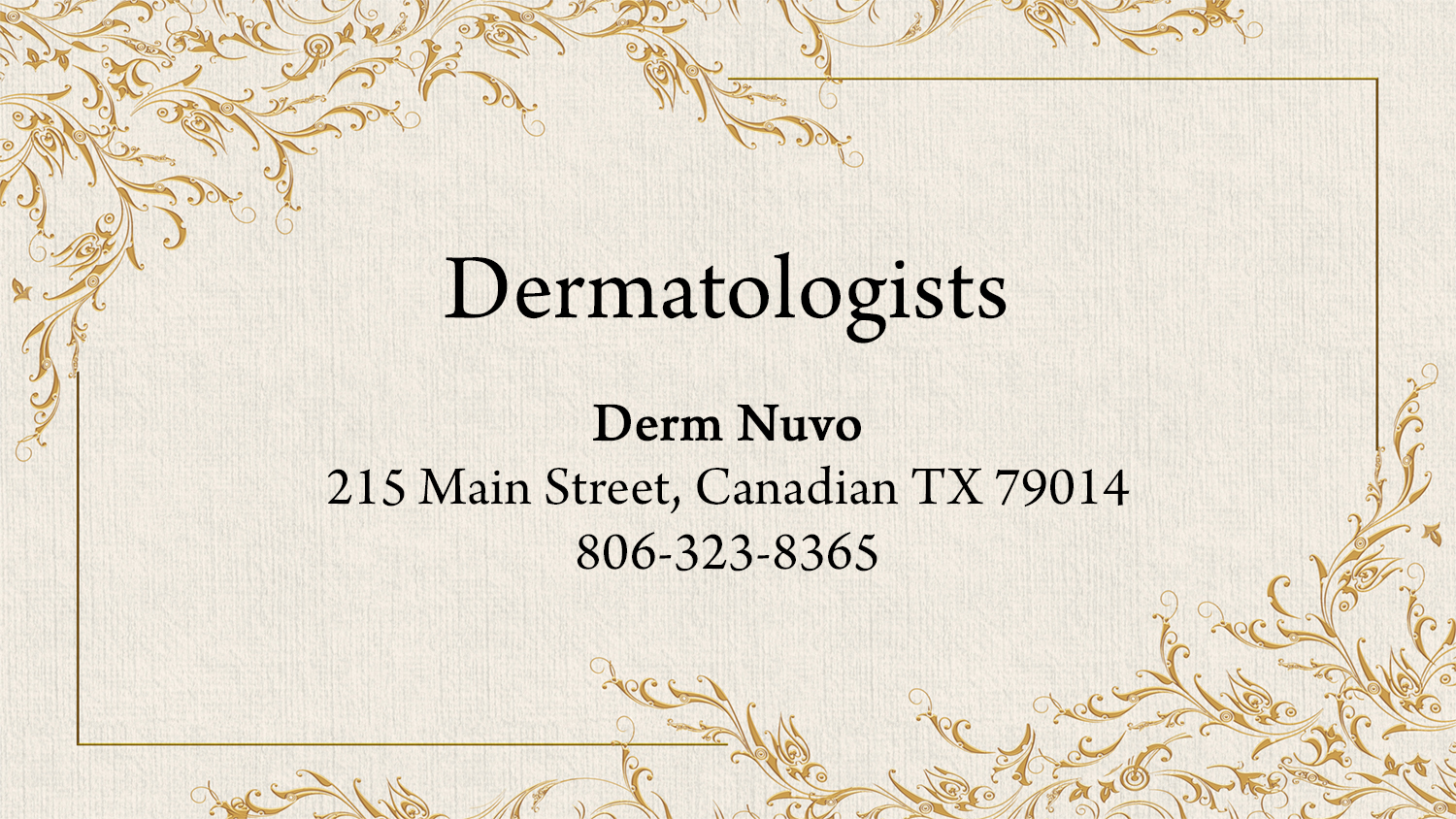 listings dermatologists