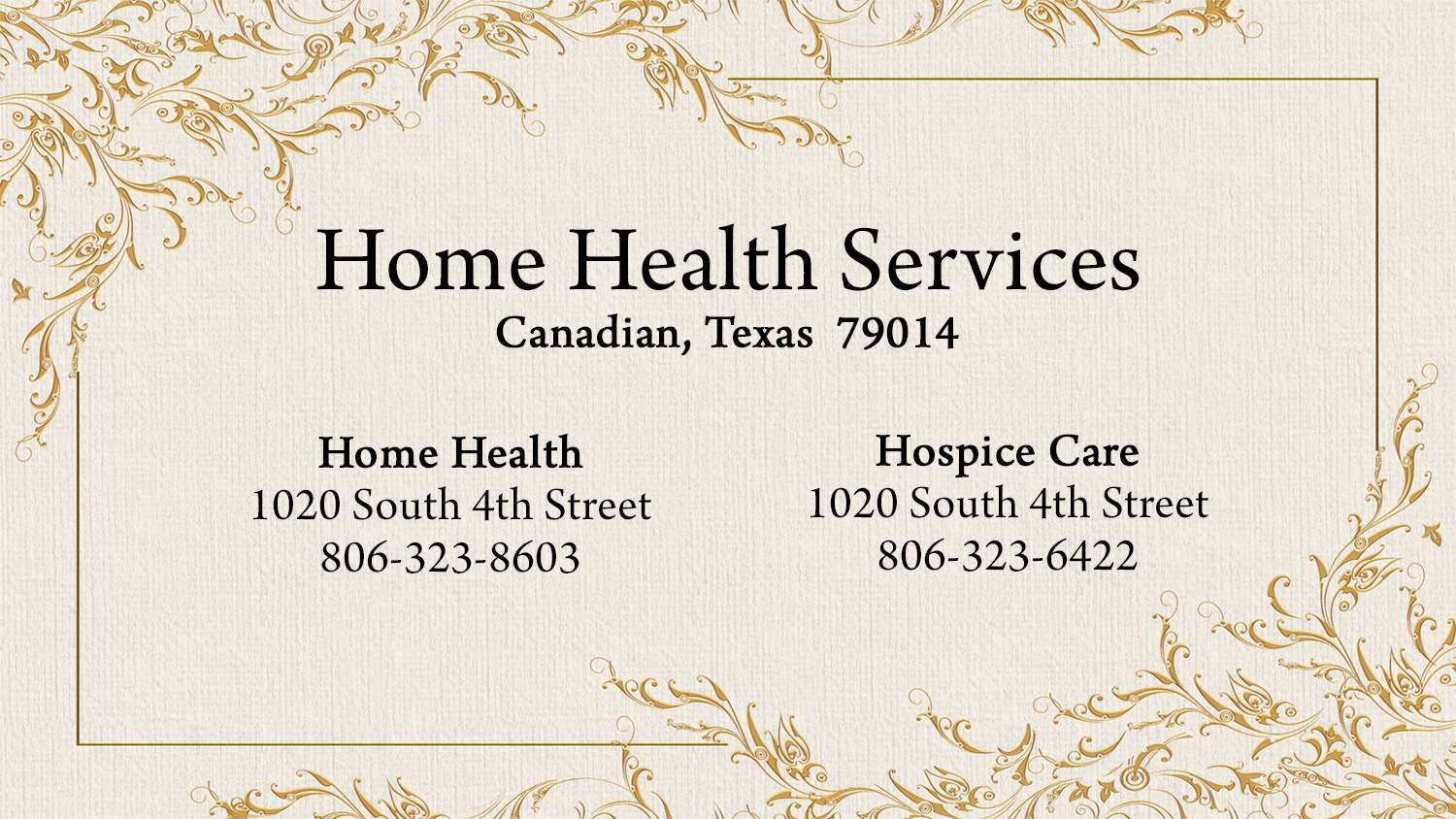 listings home health