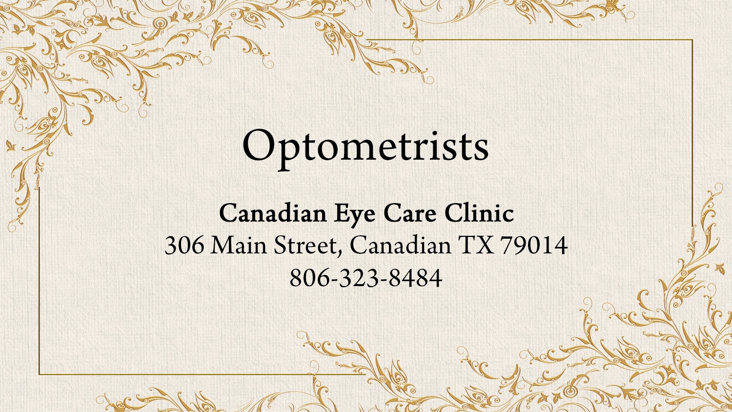 listings optometrists