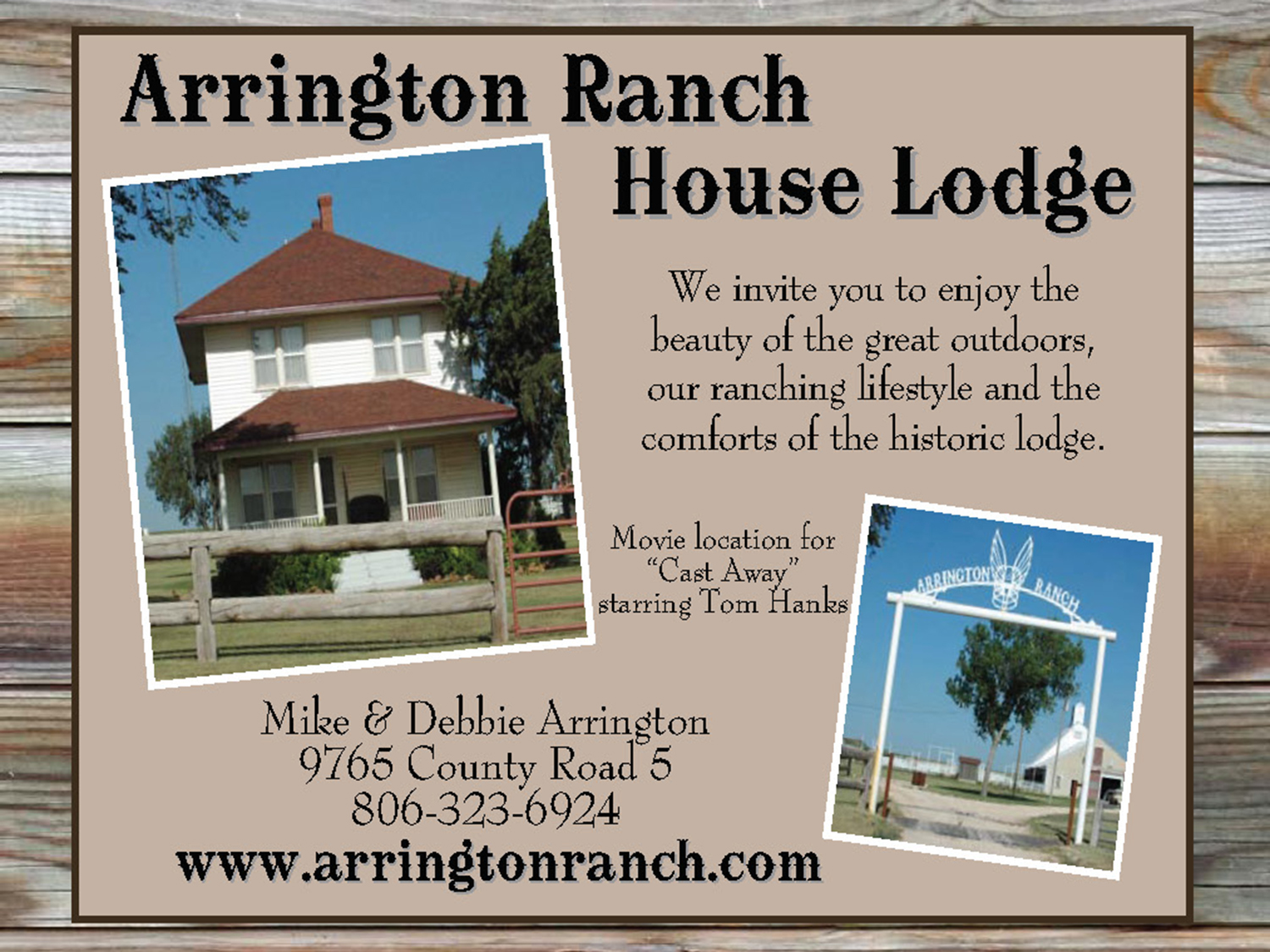 lodging arrington ranch