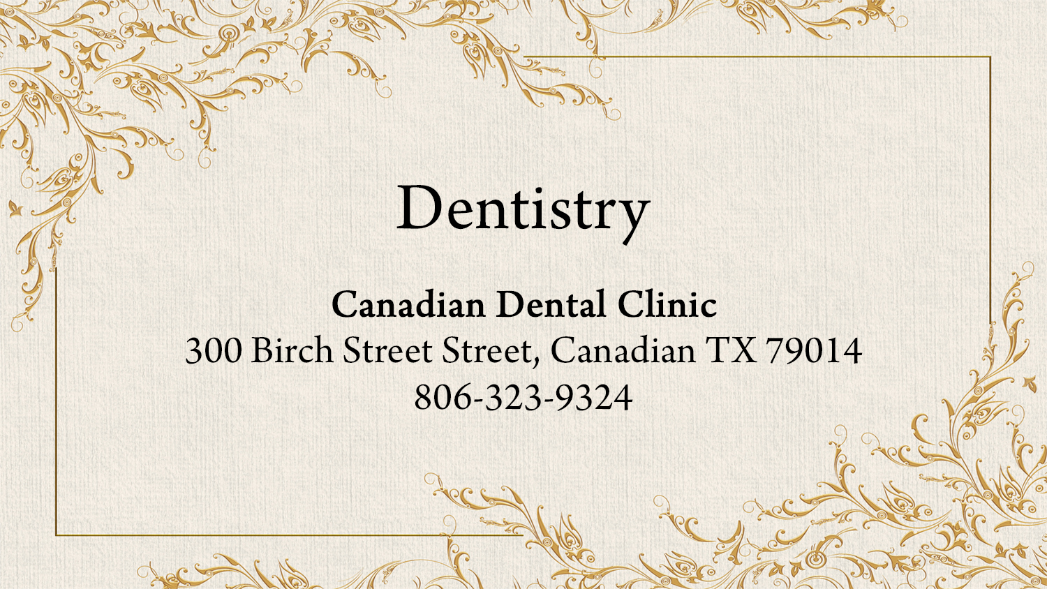 listings dentistry